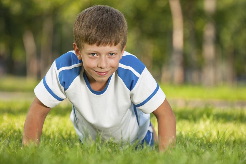 child-doing-push-up